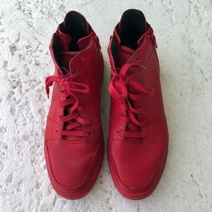 Creative Recreation red sneakers size 13
